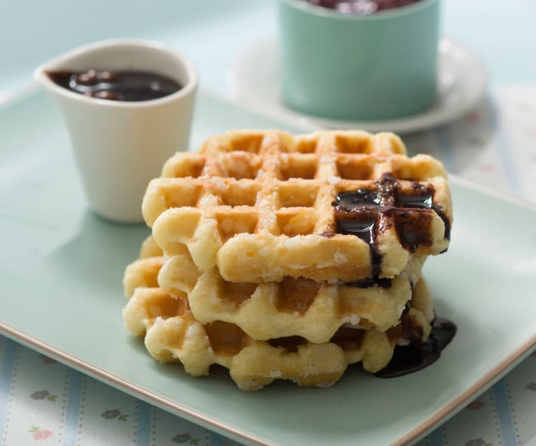 tradicionales waffles