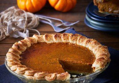 pumpking pie pay de calabaza