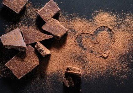 chocolates simbolizando el amor